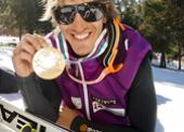 El esquiador Jon Santacana, lesionado