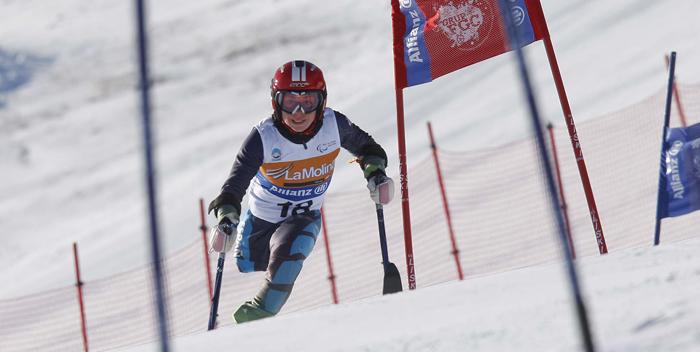 La esquiadora Úrsula Pueyo. | AD