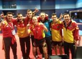 España sigue en la élite europea del tenis de mesa