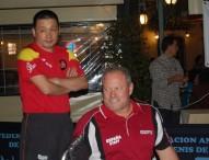 Encuentro con los grandes palistas Manolo Robles y 'Juanito'