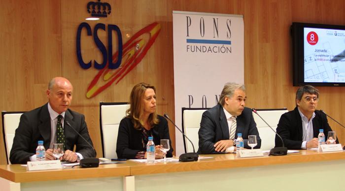 Juan Antonio Corbalán, Ana Muñoz Pablo Chico y Manuel Sevillano. | AD