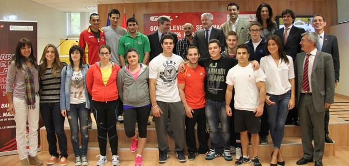 Deportistas y representantes del mundo federativo en la presentación del acuerdo. | CSD