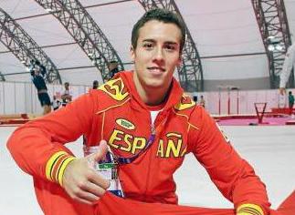 El gimnasta Fabián González. | AD