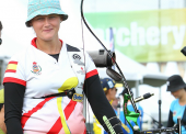 El viento se lleva las posibilidades de podio en el Mundial de Tiro con Arco