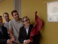 Saúl Craviotto inaugura un centro de piragüismo con su nombre