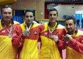 España cierra el europeo de tenis de mesa paralímpico con 7 medallas