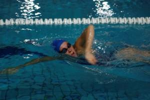La nadadora Deborah Font. Fuente: