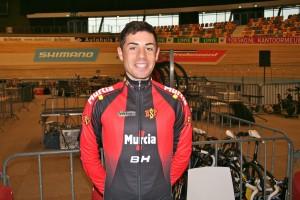 El ciclista Sebastián Mora. Fuente: RFEC