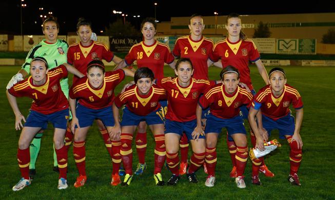 alineacion femenina fútbol absoluta