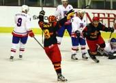 Puesta a punto de las selecciones de hockey hielo en Jaca