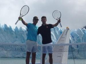nadal-djokovic glaciar