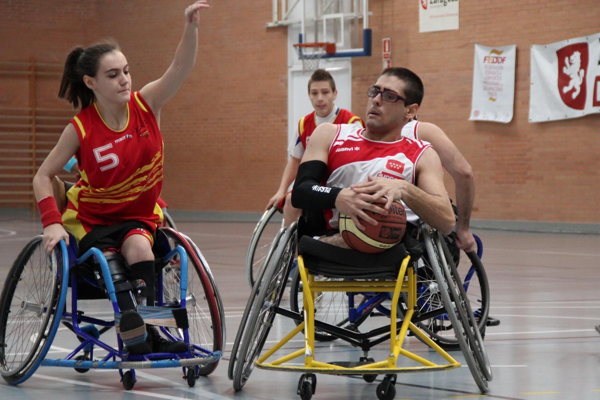 Campeonato de Espa a de Baloncesto cadete en silla de ruedas