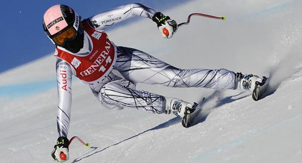 La esquiadora Carolina Ruiz. Fuente: RFEDI