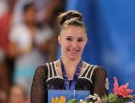 Roxana Popa, oro en gimnasia artística en el Abierto de México