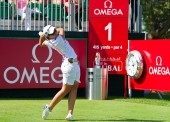 Carlota Ciganda acaba tercera en el desierto de Dubai