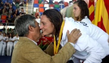 Mireia Belmonte. Fuente: RFEN