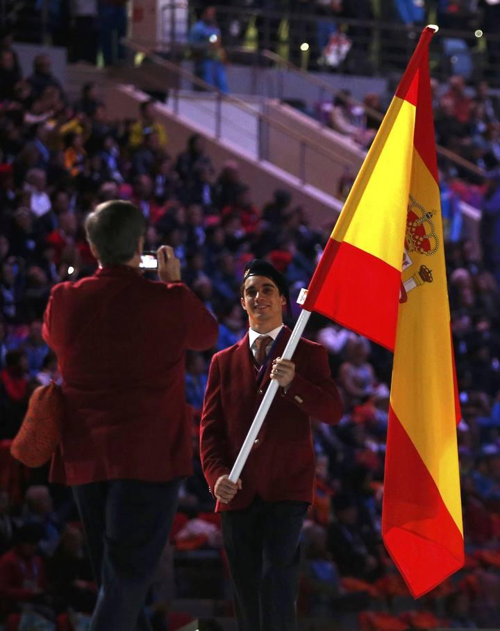 delegación española en ceremonia inaugural sochi 2014