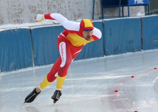 Iigo Vidondo patinaje de velocidad