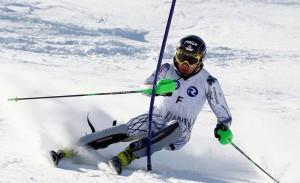 El esquiador Pol Carreras. Fuente: AD