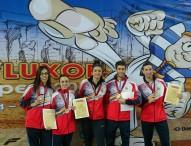 El taekwondo español brilla en el tatami de Egipto