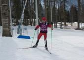 Víctor Lobo mejora en los 20 kilómetros del biatlón