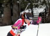 Plata histórica de Victoria Padial en el Europeo de biathlon
