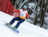 Brillante sexto puesto de Astrid Fina en snowboardcross
