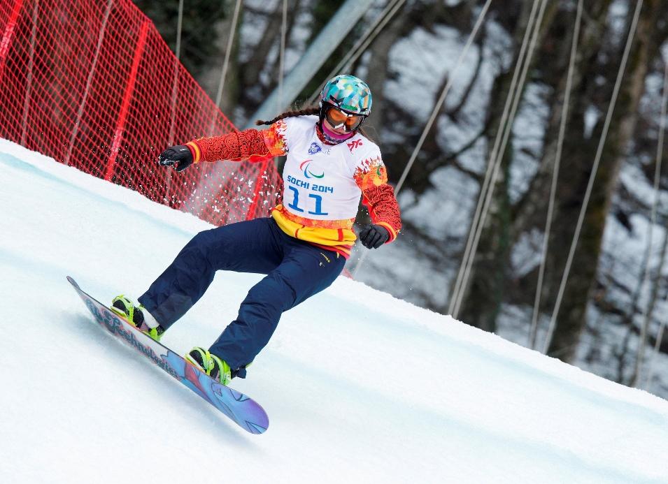 La catalana Astrid Fina en el circuito de Sochi. Fuente: CPE
