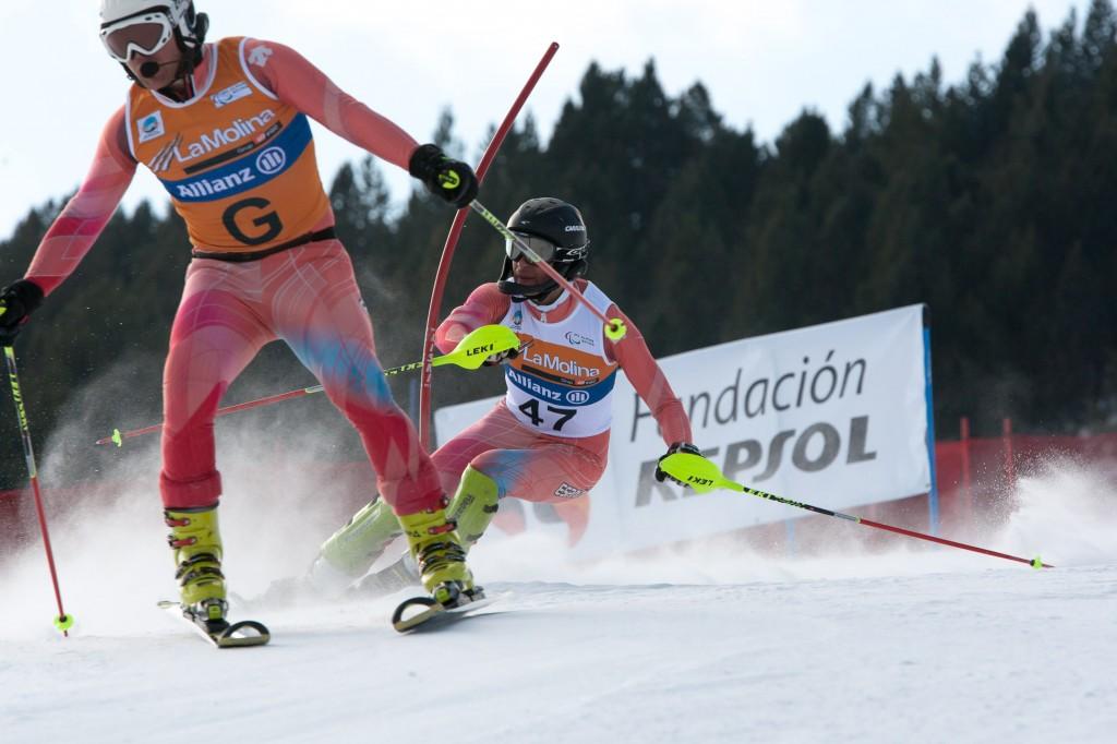 gabriel gorce ferrer arnau esqui alpino paralimpico