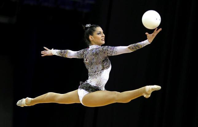 carolina gimnasia ritmica pelota olimpicos