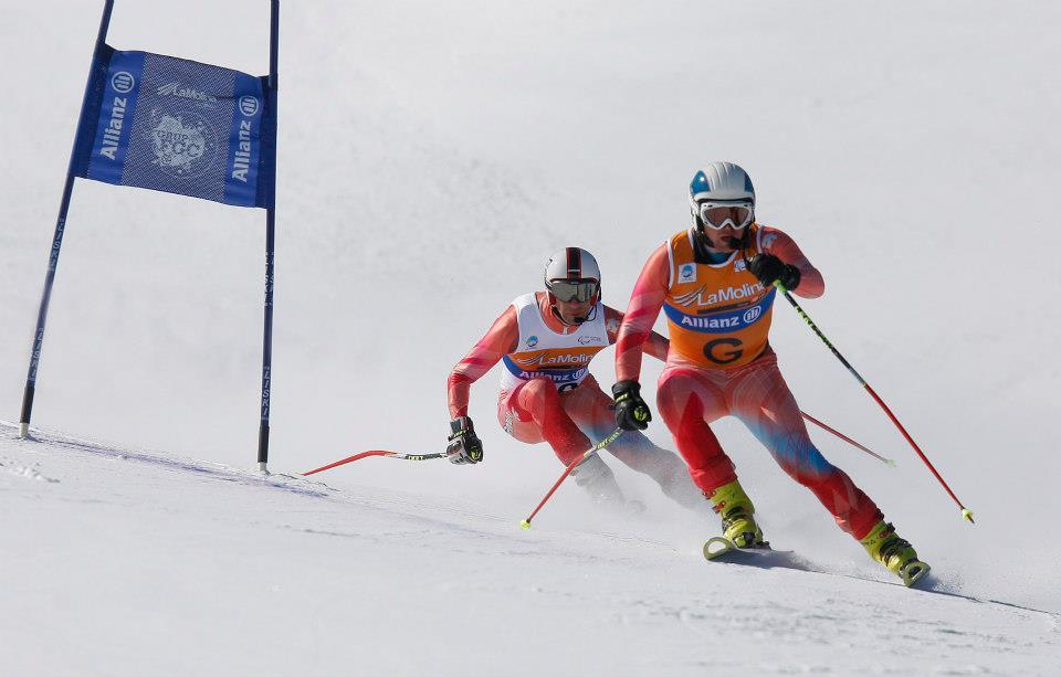 arnau ferrer y gabriel gorce esqui alpino paralimpico