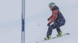 Equipo Snowboard Paralímpico enero 2014