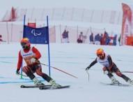 Diplomas paralímpicos para Santacana y Gorce en slalom gigante