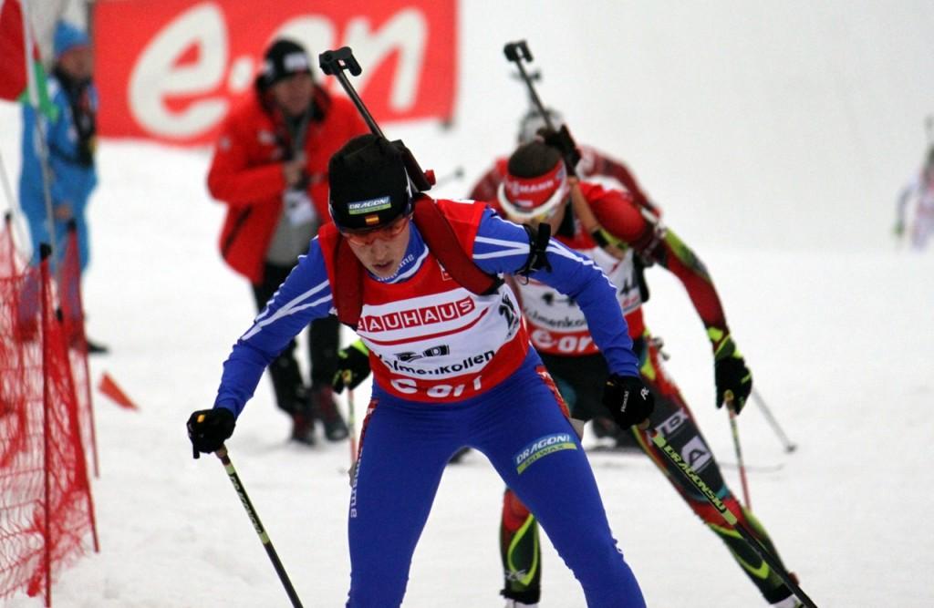 victoria padial oslo biatlon invierno