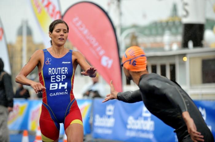 La triatleta española Carolina Routier. Fuente: AD