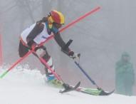 Tercera caída de Úrsula Pueyo en los Juegos de Sochi