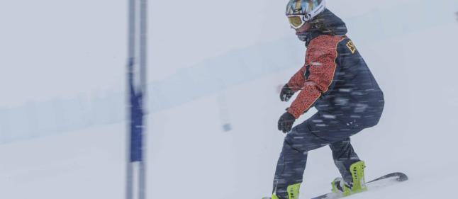 astrid fina snowboard paralimpico