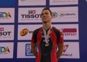 Eloy Teruel se cuelga el bronce en el Mundial de Cali