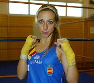 La boxeadora Jennifer Miranda.