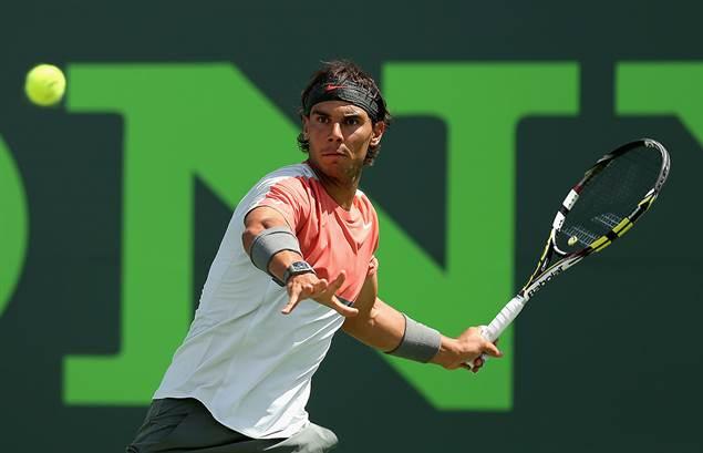 Rafa Nadal no pudo con Djokovic en Roma.
