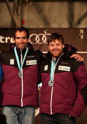 Gabriel Gorce y Arnau Ferrer. Fuente: AD