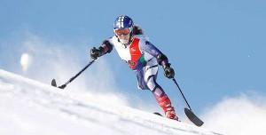 La esquiadora Úrsula Pueyo. Fuente:AD