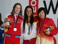 Sarai Gascón, oro, plata y récord en el Open Británico