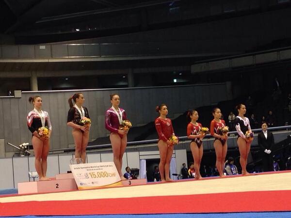 Roxana en el 2º cajón del podio en Tokio. Fuente: AD
