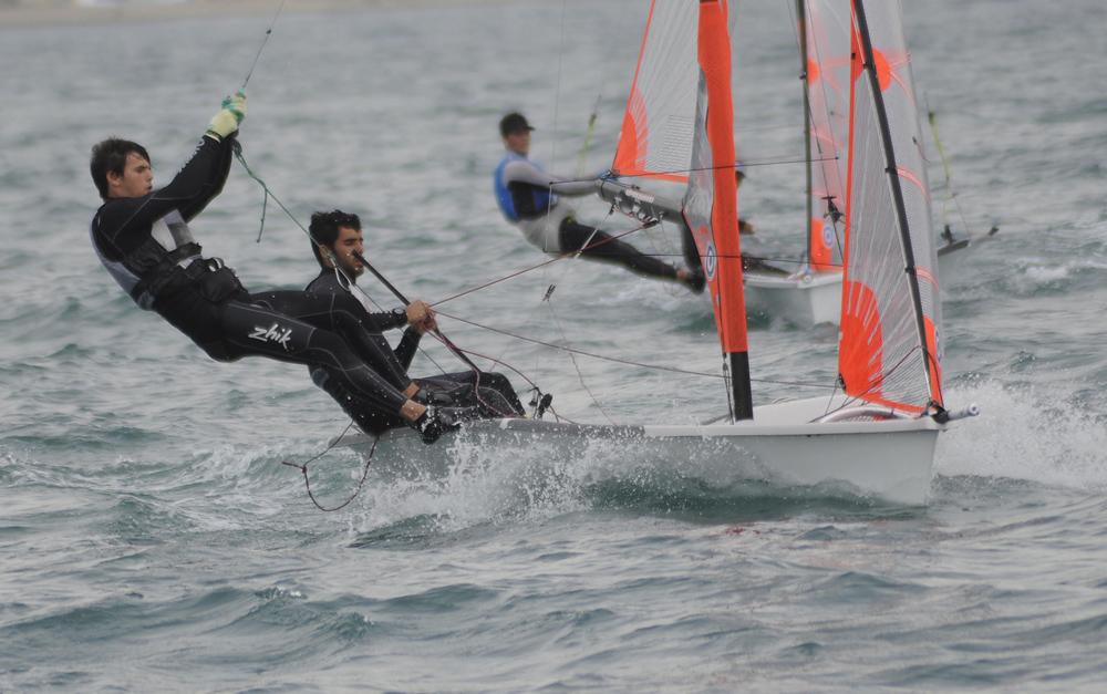Nil Mas y Jordi Llena, campeones de España de 29er vela