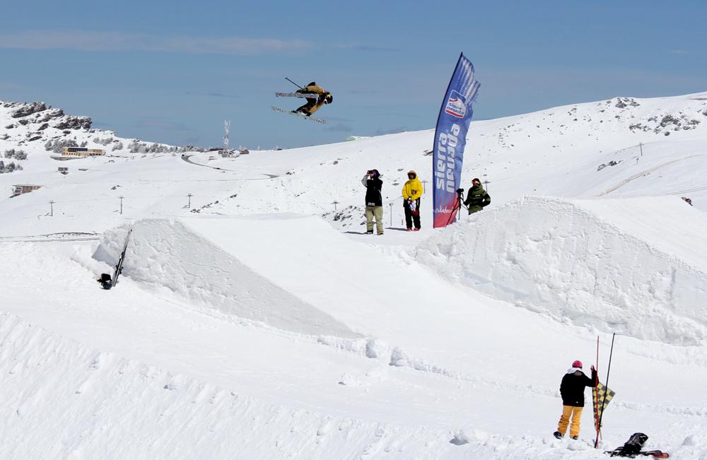 Javi Vega snowboard sierra nevada