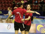 El badminton español reina en el Viejo Continente