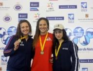 Jessica Vall bate el récord de España de los 100 braza