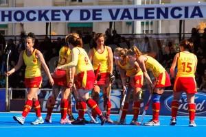 Partido de la selección en Valencia.