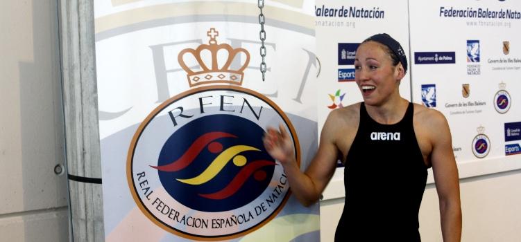 La nadadora Jessica Vall. Fuente: RFEN